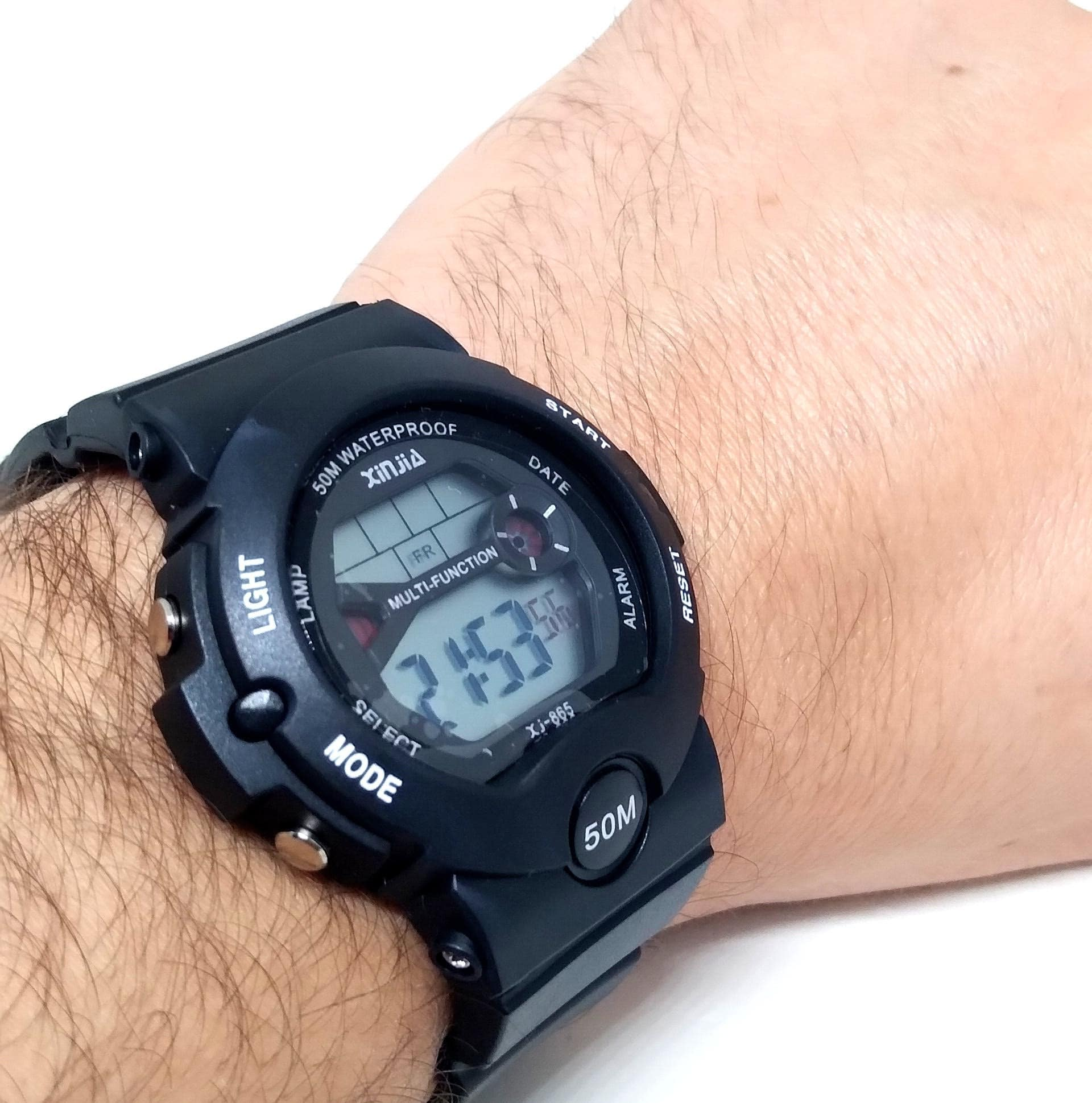 Relógio Masculino Digital A prova dagua Xinjia XJ865