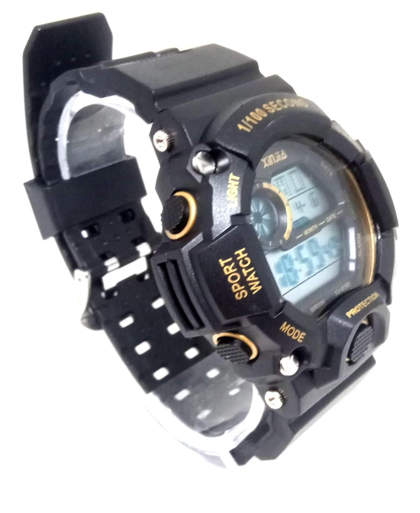Relógio Masculino Digital A prova dagua Xinjia XJ875d