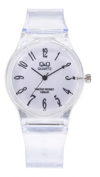 Relógio Transparente QQ