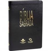 Bíblia NAA - Média - Semi-luxo preta