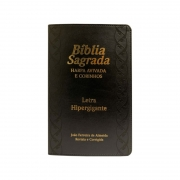 Bíblia Sagrada com Harpa Avivada e Corinhos - ARC - Hipergigante