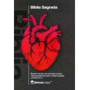 Bíblia Sagrada Naa | Jesus Copy | Coração - NAA