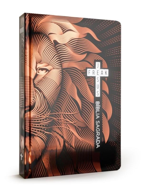 Bíblia Sagrada Jesus Freak | NVI | Leão Bronze