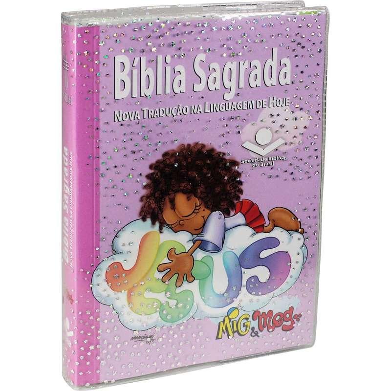 BÍBLIA SAGRADA MIG E MEG - Letra Normal NTLH -