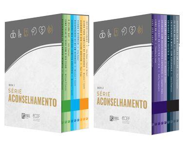 Boxes Série Aconselhamento (Nº 1 ao Nº 18)