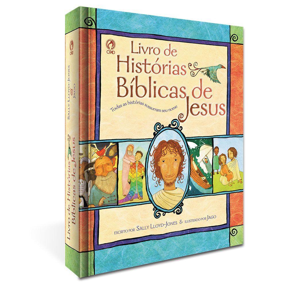 Livro de Histórias Bíblicas de Jesus