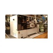 Torno Mecanico Romi, modelo ES-40 - 500mm, comprimento: 1,00mt, Placa 3 castanhas 320mm, luneta fixa, contraponta, ponta Rotativa, sem refrigeração - 220V - Desengate Automatico, Barramento Semi novo,