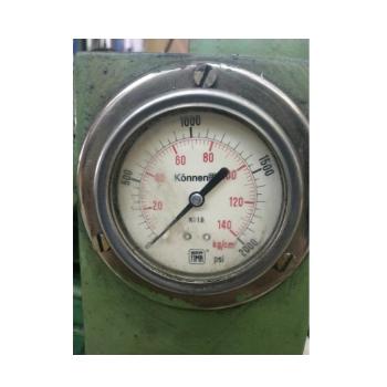 Fresadora Horizintal Hidraulica Automatica, Marca Eberle, Mesa 800 x 200, curso 500mm - 220V - Bom Estado (Usada)  - Atlasmaq