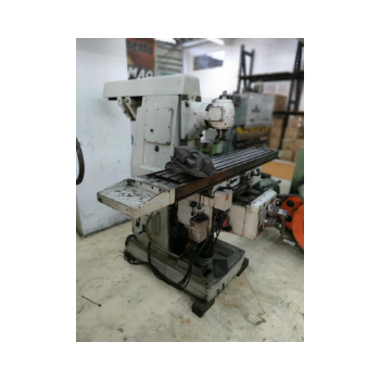 Fresadora Universal, Marca Zema, Modelo FUA-1600, Mesa 1600x300mm, Cabeçote Vertical, Morsa - 220V - Bom Estado (Usada)  - Atlasmaq