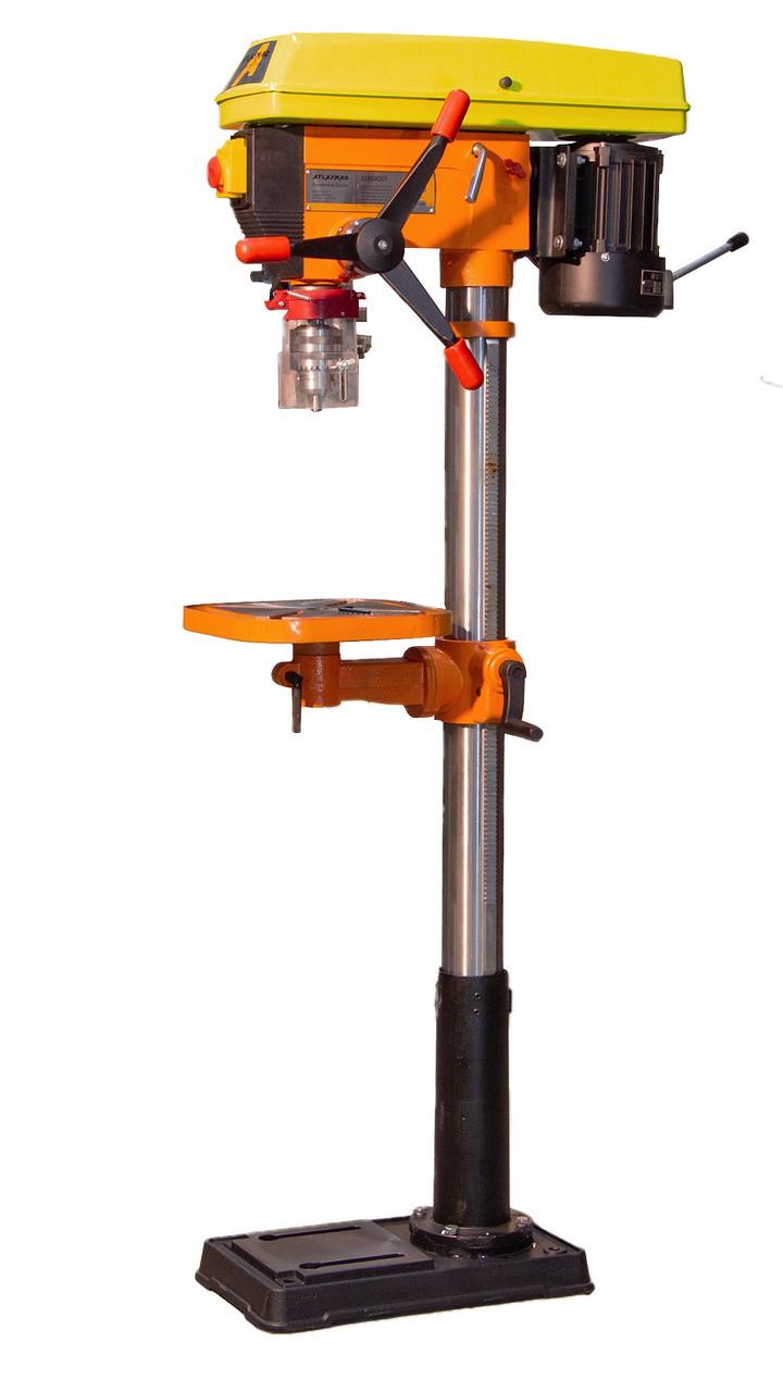 Furadeira De Coluna De Correia Atlasmaq FCC-25mm - Produto Novo  - Atlasmaq