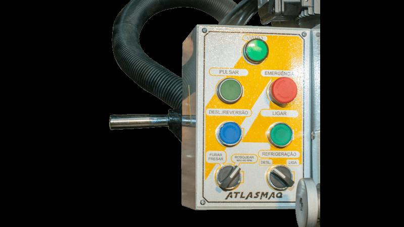 Furadeira de Coluna Engrenada Automática Atlasmaq FC45A - Produto Novo  - Atlasmaq