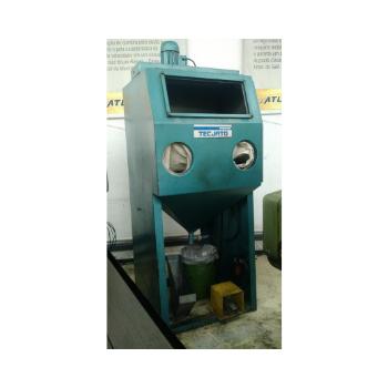 Maquina de Jateamento Tecjato, Marca Febratec , Modelo GSF6070SD, Gabinete 700x600x700mm - 220V - (Usada)  - Atlasmaq