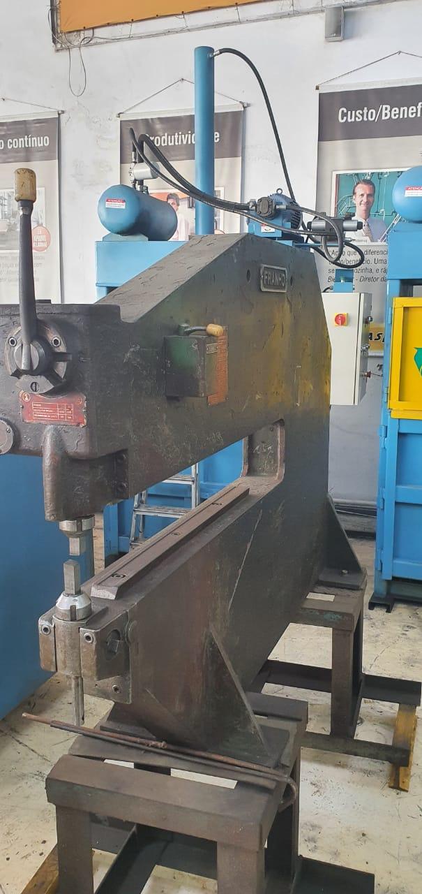 Máquina Franho para corte de chapas em disco, Modelo C6 - 220/380V - Usada  - Atlasmaq