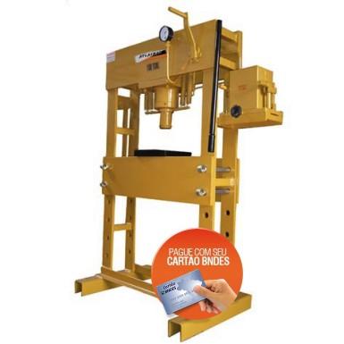 Prensa Hidraulica Manual 100 Ton. - Produto Novo  - Atlasmaq