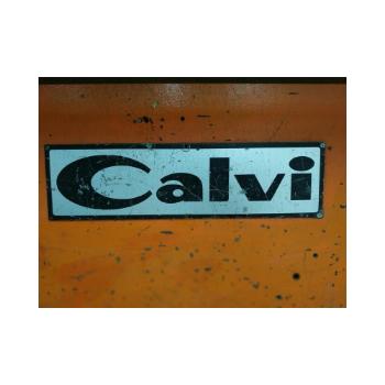 Prensa Viradeira Mecanica Calvi, Modelo PVM 2030/3050 40tons, Com Ajuste Motorizado da Ferramenta, Sem matriz prisma - 220V - (Usada)  - Atlasmaq