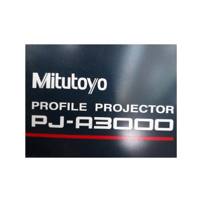 Projetor de Perfil Mitutoyo, PJ-A3000, com carrinho para transporte, 120V - Super Conservado, praticamente novo (Usado)  - Atlasmaq