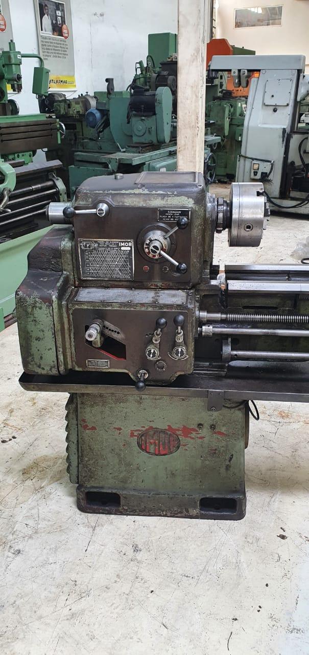 Torno Mecanico Imor, Modelo Min 15, Diametro 500 x 1500mm - Usado  - Atlasmaq