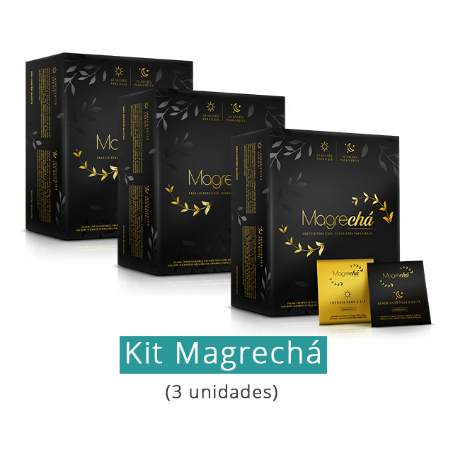 Kit Magrechá (3 unidades)