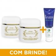 Kit 2 Potes Creme Risotex  + BRINDE | Máscara Facial Revitée