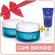 Kit 2 Potes Creme Revitée  + BRINDE | Máscara Facial Revitée - Especial Dia das Mães