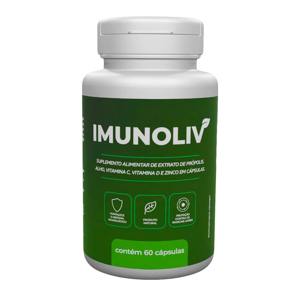 Imunoliv Suplemento Alimentar - 60 Cáps.