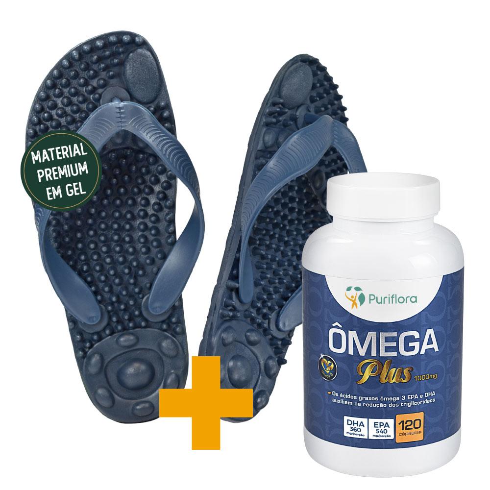 Kit Ômega Plus + Santalívio Reflex