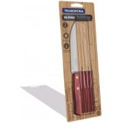 Conjunto de facas para churrasco 6 peças  Tramontina 21100675