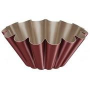 Forma para Brioche Tramontina Vermelha Brasil em Alumínio com Revestimento Antiaderente 22 cm 1,3 L  Tramontina 20065722