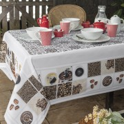 Toalha de mesa Quadrada 04 Lugares - Xicara