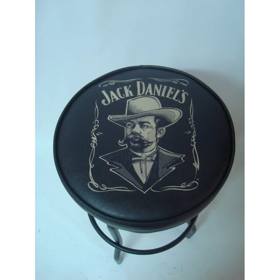 Banqueta Alta Giratória Jack Daniels