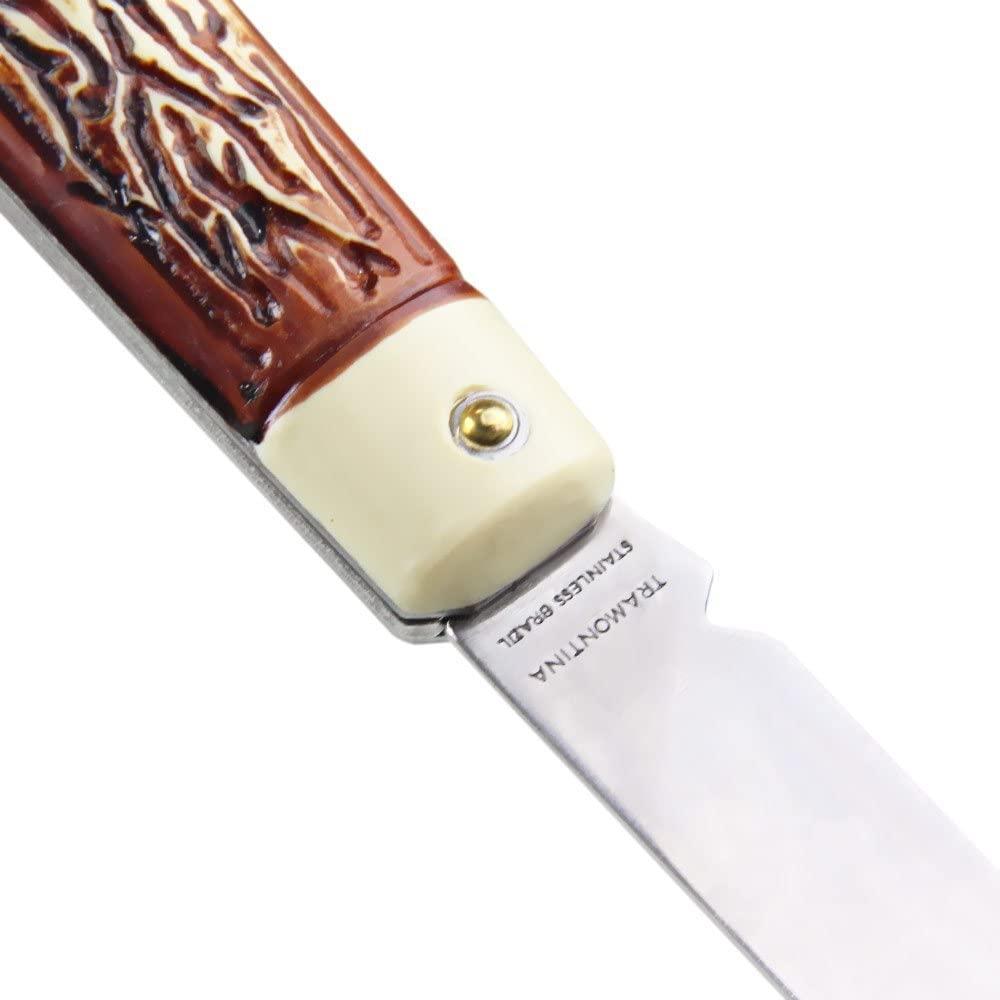 """Canivete Tramontina com Lâmina em Aço Inox com Cabo ABS 3""""  Tramontina 26300103"""