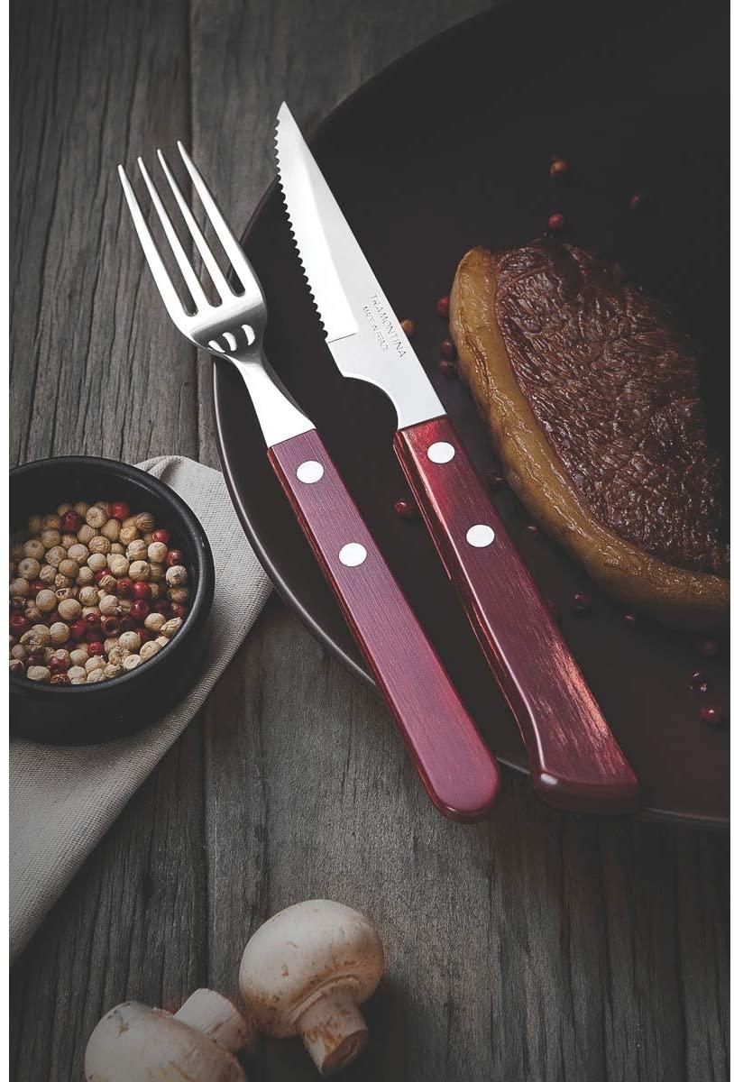 Conjunto garfos de mesa 6 peças  Tramontina 21102670