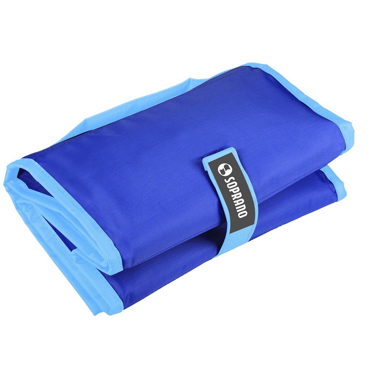 Cooler Bolsa Térmica Dobrável 5 Litros Com Gel Azul