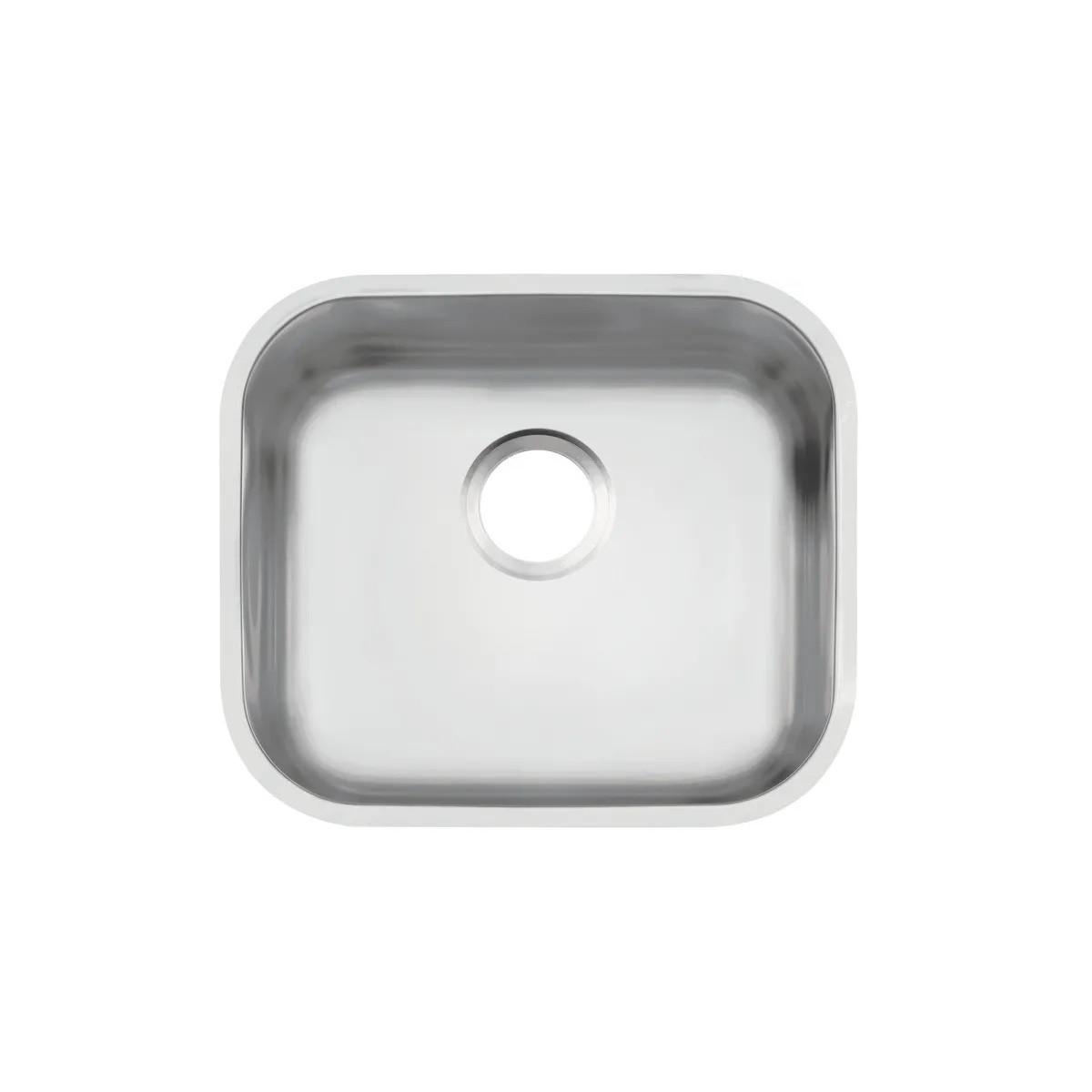 Cuba de embutir Tramontina Lavínia 40 BL em aço inox acetinado 40x34 cm 93 Tramontina 94020106