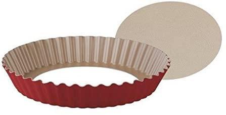 Forma Tramontina Brasil Vermelha em Alumínio com Revestimento Antiaderente com Fundo Removível 24 cm 1,4 L  Tramontina 20064724