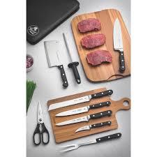 Kit Chef Tramontina em Aço Inox Cabo de Policarbonato e Fibra de Vidro com Estojo 10 Peças  Tramontina 24099021