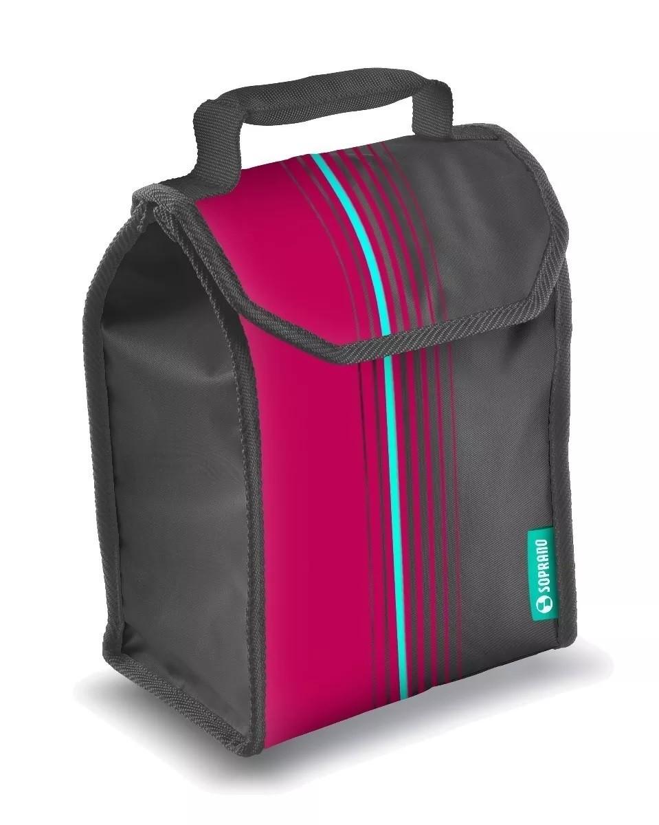 Lancheira Bolsa Termica Cooler POP 4,2 Litros Rosa