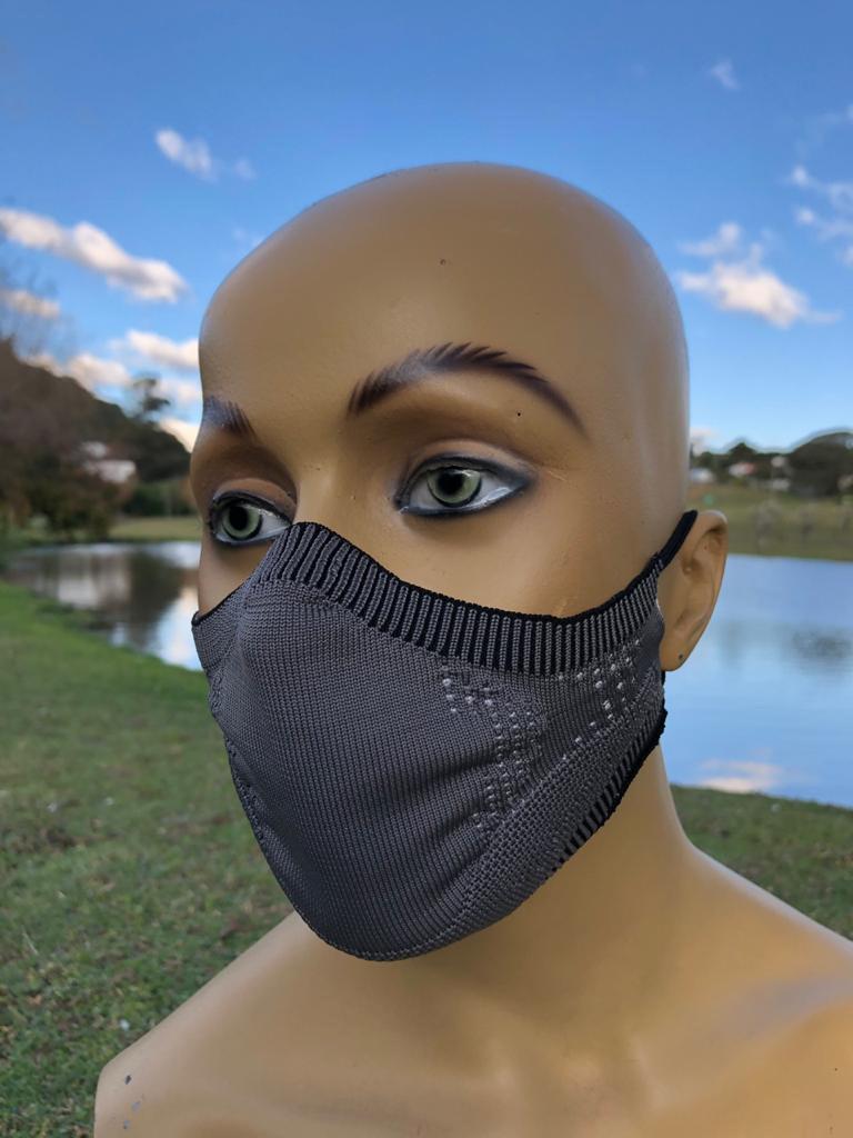 Máscara 3DK Protect Cinza - M