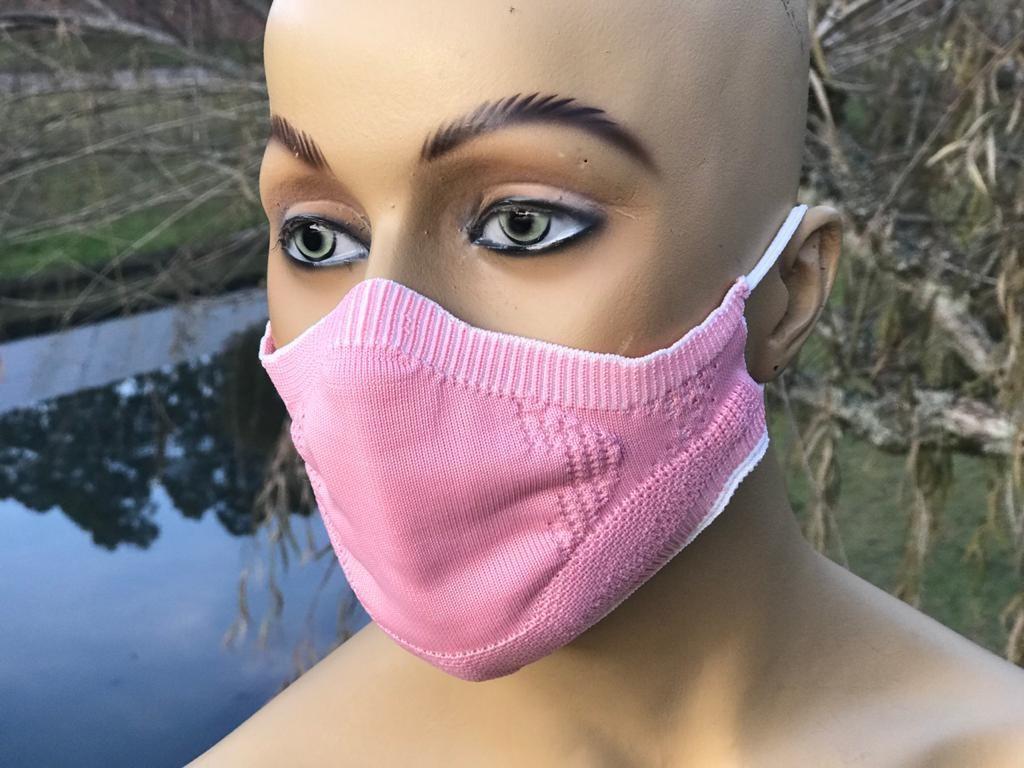 Máscara 3DK Protect Rosa - G
