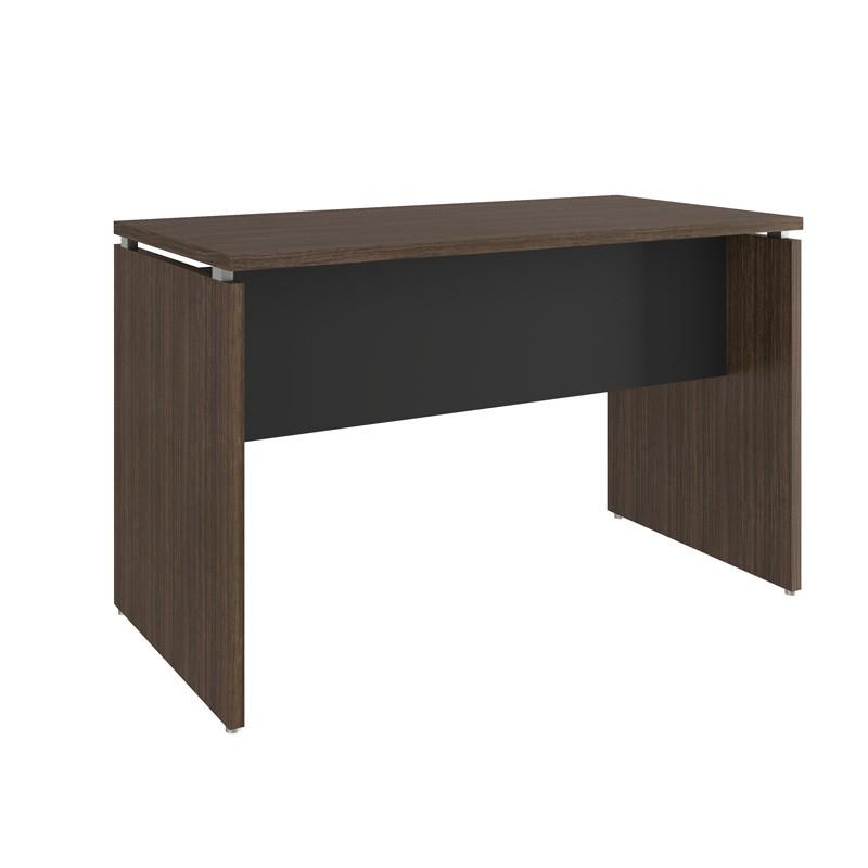 Mesa para Escritório 800x600 Win Capuccino com Preto