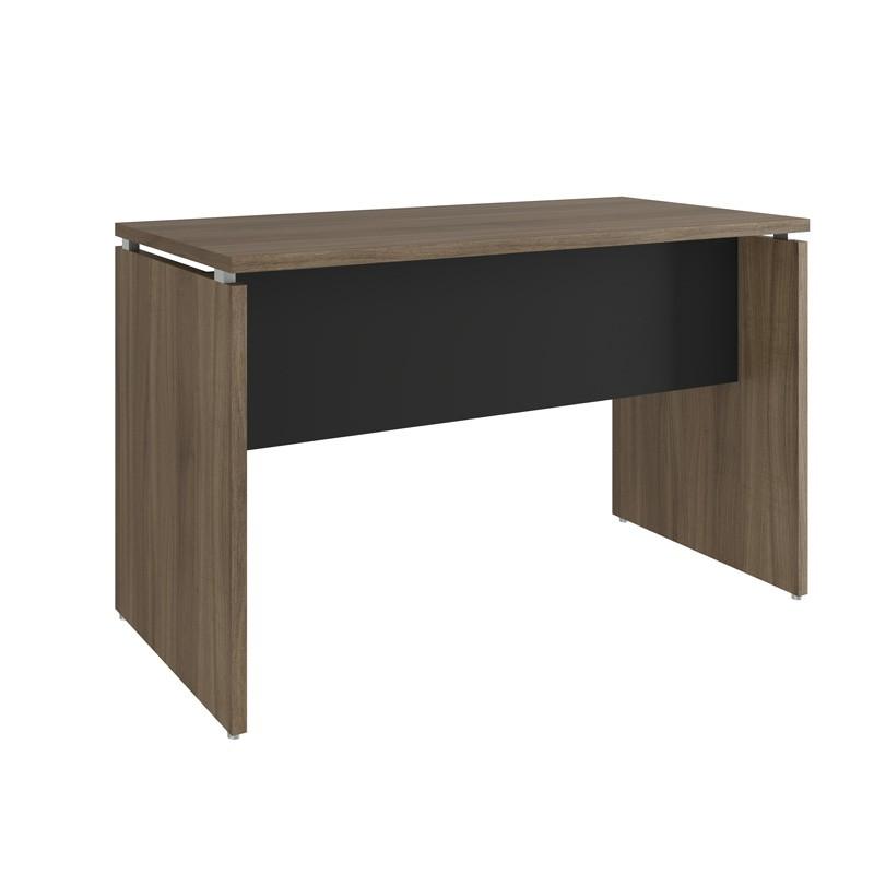 Mesa para Escritório 800x600 Win Nogueira com Preto