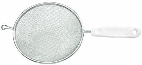 Peneira Tramontina Utilitá em Aço Inox com Cabo de Polipropileno Branco 10 cm  Tramontina 25680181