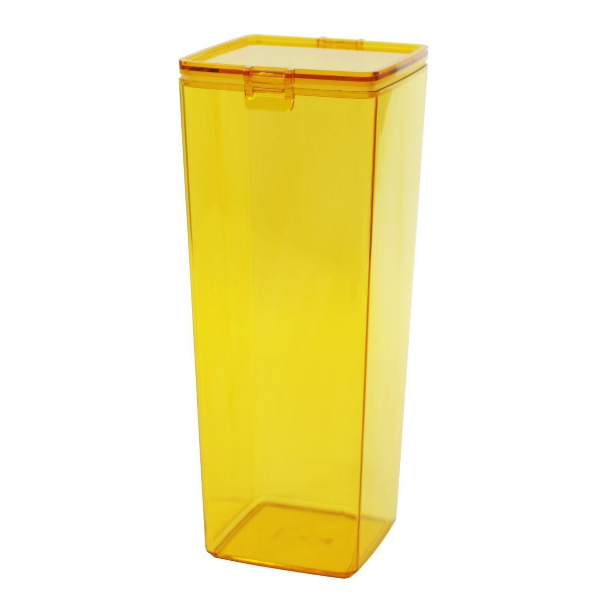 Pote Hermético 3L Amarelo Transparente