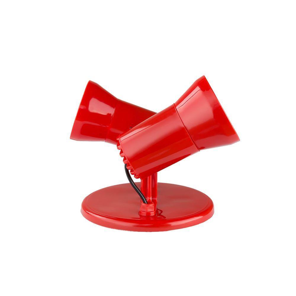 Spot de sobrepor E27 2L Vermelho Starluz 9002.4