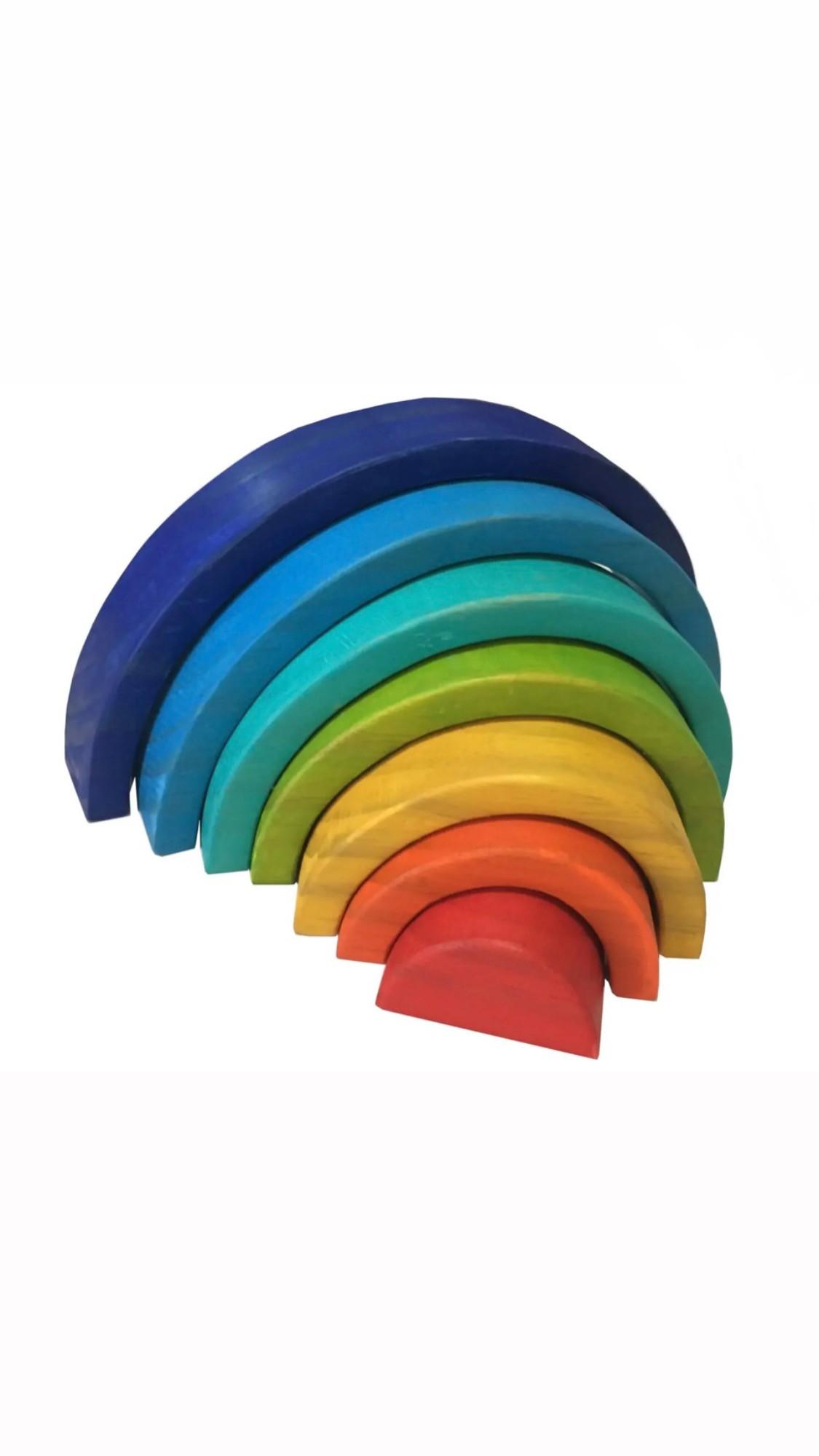Arco-íris Waldorf 7 peças - Pôr do Sol