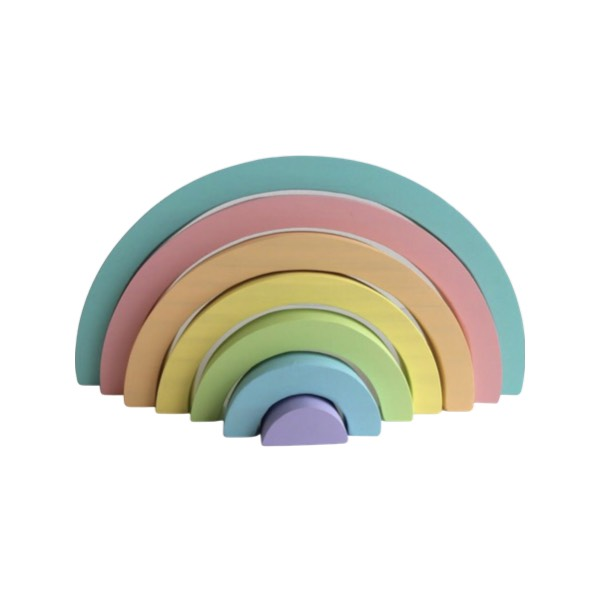 Arco-íris Waldorf Candy Colors Pequeno