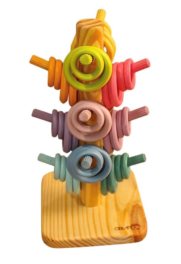 Árvore de Argolas Candy Colors