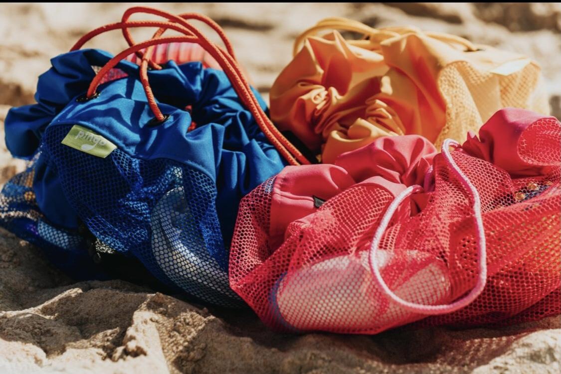 Bolsa Organizadora Praia Pink