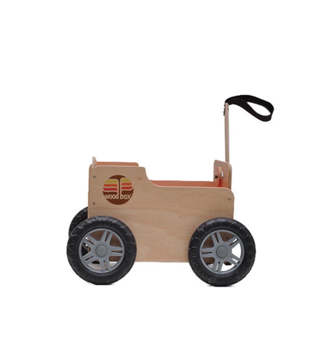 Carrinho Multiuso de Madeira - Woodbox