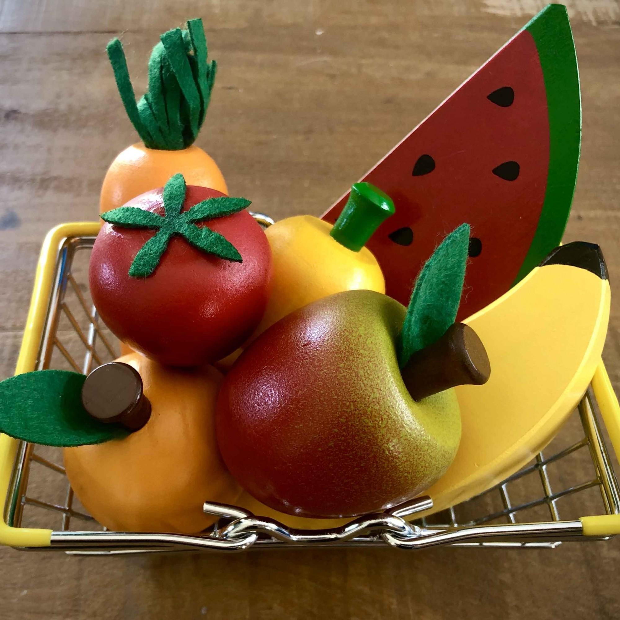 Cestinha de Frutinhas e Legumes